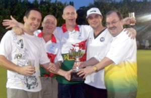Underrated Team Wins Lawn Bowls Cup